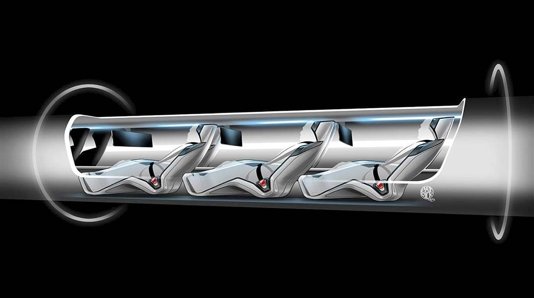 Hyperloop-Travel