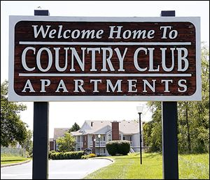 Country Club Apartments on Dorr Street, near the Inverness Club, sold for $17.3 million to Greystone Country Club LLC of New York. It was among the few complexes locally sold in 2013's first half.
