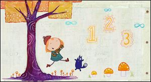 'Peg + Cat' is a new PBS series that debuts in the fall designed to help young kids with math.