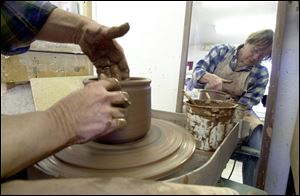 Pottery classes for adults and children begin the week of Sept. 9 at the Toledo Potters' Guild at Toledo Botanical Garden.