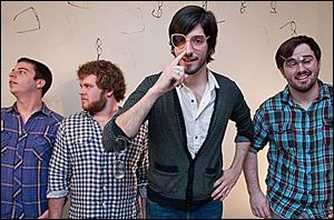 Local art pop band Mind Fish will play Friday at Ottawa Tavern.