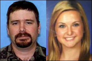 James Lee DiMaggio, 40, left, and Hannah Anderson, 16.