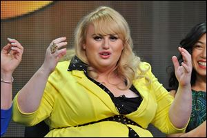 Australian actress Rebel Wilson stars in the new ABC comedy 'Super Fun Night.'