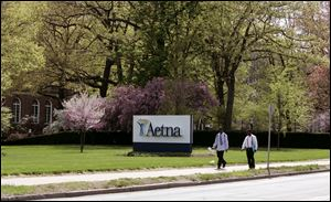 Aetna headquarters in Hartford, Conn.