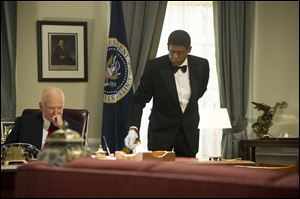 Forest Whitaker and Robin Williams in 'The Butler.'