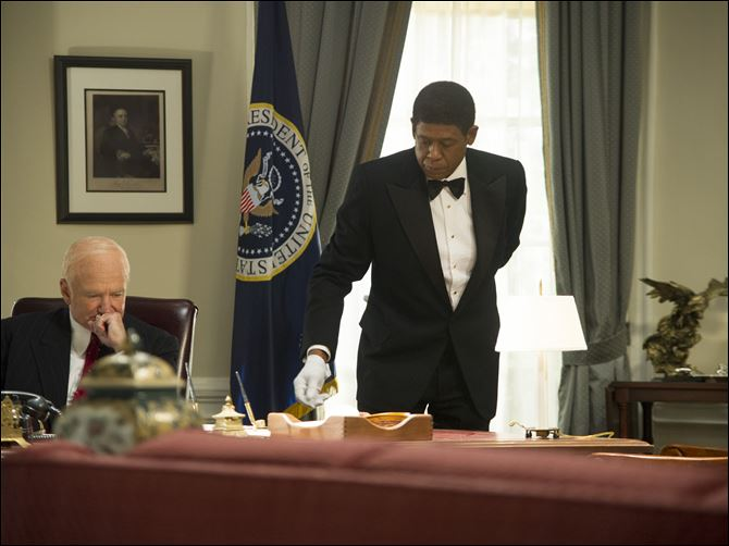 Film Review The Butler Forest Whitaker Robin Williams Forest Whitaker and Robin Williams in 'The Butler.'