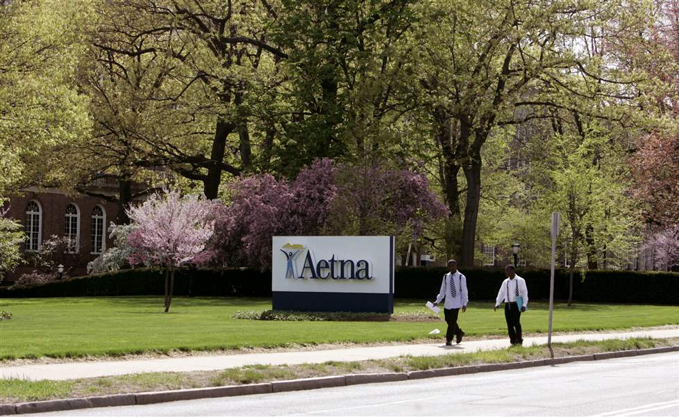 Aetna-headquarters-in-Hartford-Conn