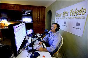 Jeff Lamb has no staff, and he is financing the thousands of dollars in equipment, development of free apps, and  Web service and hosting fees himself. He says he has about 1,000 listeners in a week, quite a bit fewer than the thousands who listened to him on WIOT FM 104.7 about a decade ago.