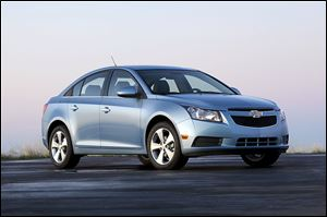 The 2011 Cruze is being recalled along with the 2012 model for brake problems.