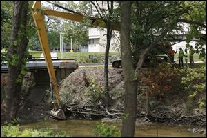 Ecological restoration continues to the Ottawa River at the University of Toledo. It has worked to restore all 3,700 feet of the river that runs through campus.