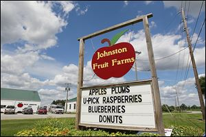 Johnston Fruit Farms in Swanton drew a large contingent of pickers until the trend peaked in the late 1970s and early 1980s. Recently, the owners say, foot traffic in their fields has increased.