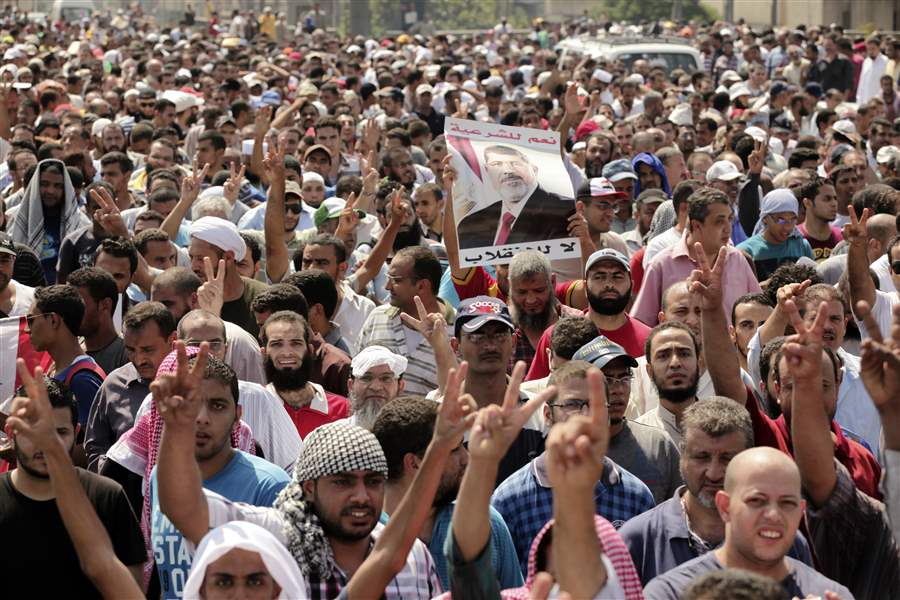 Mideast-Egypt-PROTESTERS
