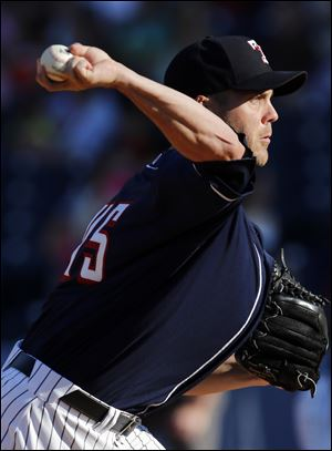 Mud Hens pitcher Shawn Hill allowed six earned runs with two walks and two strikeouts in 6 1/3 innings pitched on Sunday.