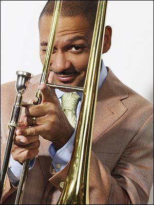 Delfeayo Marsalis and Friends will perform Wednesday at Jazz on the Maumee in Grand Plaza Ho­tel Aqua Lounge.