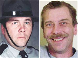 Neyland was convicted of fatally shooting his former boss, Douglas Smith, 44, of Sylvania Township, right, and a company employee, Thomas Lazar, 58, of Belle Vernon, Pa.,  left, on Aug. 8, 2007.