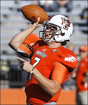 BG quarterback Matt Schilz will start Aug. 29 when the Falcons host Tulsa to open the season.