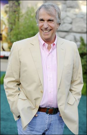 Actor and children's book author Henry Winkler