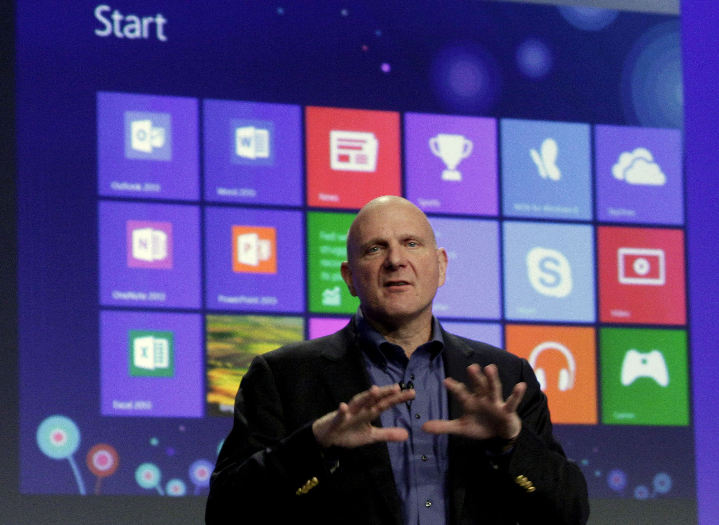 microsoft says ceo ballmer to retire in next 12 months