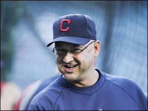 Cleveland's Terry Francona has his team playing one day at a time baseball to a fault. Despite needing a good run of games as they start a tough road stretch, he said the only important game is today.