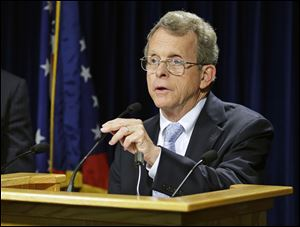 Ohio Attorney General Mike DeWine said his office should have gone public with the fact that his Bureau of Criminal Investigation and Identification had