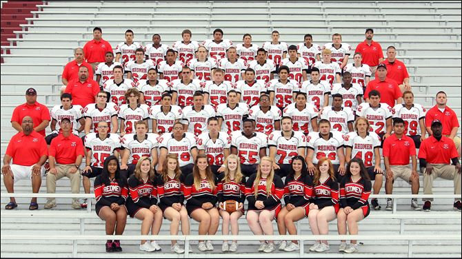 SPT Fostoria High School football 2013 2013 Fostoria Redmen