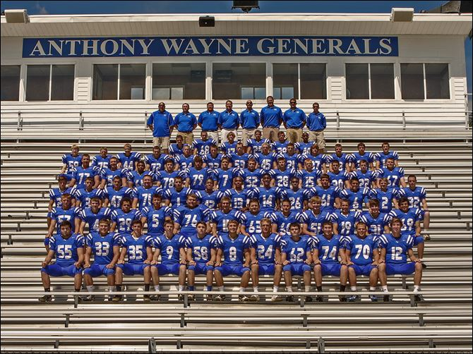 SPT Anthony Wayne football 2013 2013 Anthony Wayne Generals