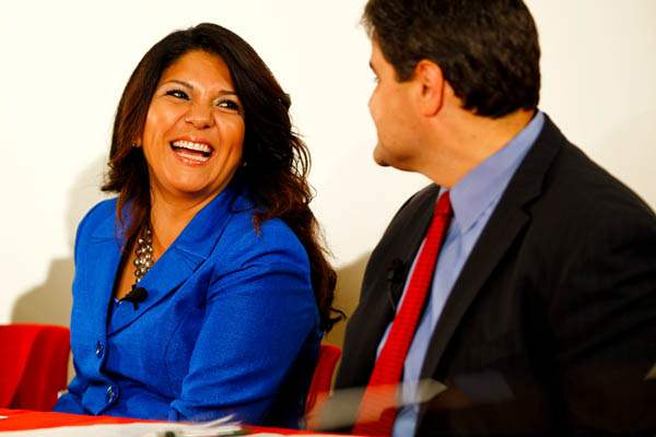 Anita-Lopez-laughs-while-talking-to-Joe-McNamara