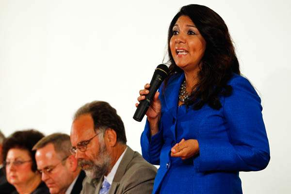 Anita-Lopez-speaks-during-a-mayoral-candidate-debate