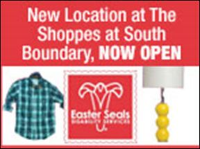 Easter Seals Now Open!