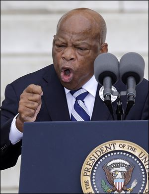Rep. John Lewis (D., Ga.) recalls Martin Luther King, Jr.,'s most famous speech, when Mr. King told hundreds of thousands of marchers he had a 'dream.'