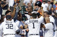 APTOPIX-Athletics-Tigers-Baseball-Torii-Hunter