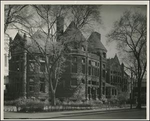 In 1890 Toledo built its first library building at Madison and Ontario streets.