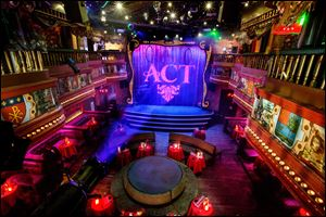 This image provided by The Act nightclub shows the interior of the club located at the Palazzo hotel-casino on the Las Vegas Strip.