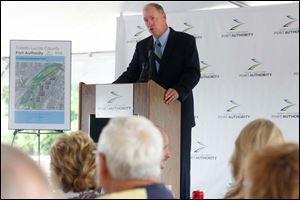 Toledo-Lucas County Port Authority President and CEO Paul Toth, Jr.,