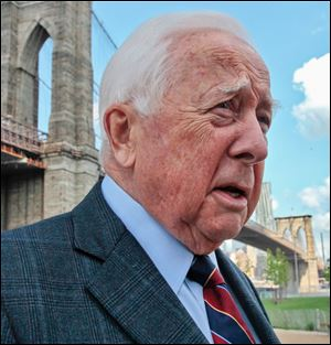 David McCullough, author and historian, si slated to speak on Saturday at the Epic Journey celebration of the Toledo-Lucas County Public Library.