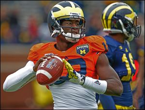 Devin Gardner will start the season at QB for Michigan for the first time.
