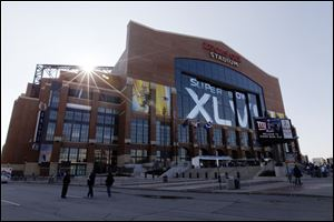 Indianapolis hosted Super Bowl XLVI in 2012 at Lucas Oil Stadium.