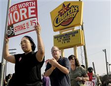 Fast-Food-Protests-for-wages