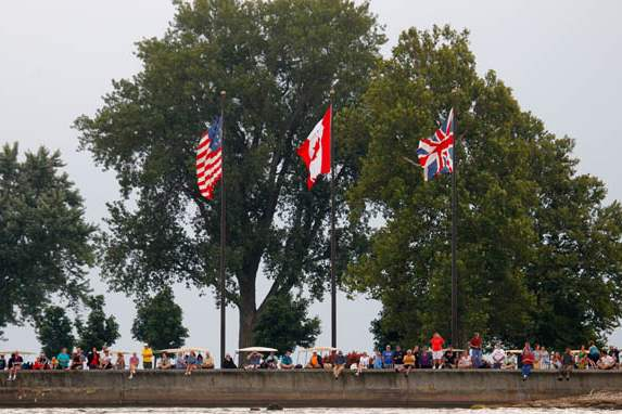 Spectators-watch-as-tall-ships-depart-Put-in-Bay-for