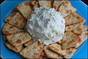 Pepper Jack Cheese Spread With Jalapenos has a kick.