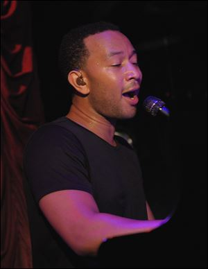 John Legend performs Aug. 27 in  New York.