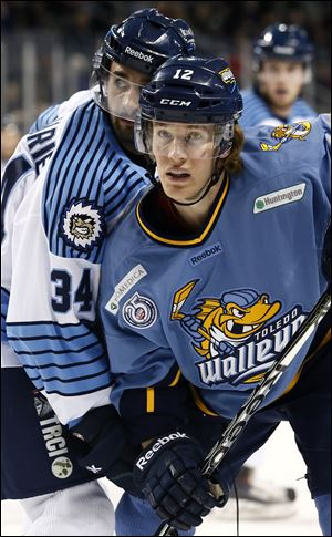 Toledo Walleye Travis Novak