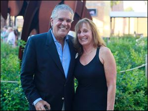 Mike Noto, left, and Mary Ellen Pisanelli.
