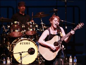 Crystal Bowersox performs at the Valentine Theatre in 2011.