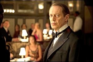 "Steve Buscemi as Enoch ""Nucky"" Thompson in Season 4 of Boardwalk Empire that premiered Sunday night on HBO."