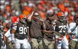 Rob Chudzinski, a St. John's Jesuit graduate, made his debut a Browns coach. Cleveland has the second youngest team in the NFL.