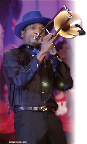 Trombone Shorty a.k.a. Troy Andrews will be playing in Toledo Sept. 18.