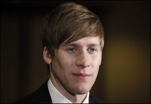 Playwright Dustin Lance Black.