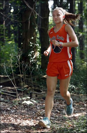 Liberty Center junior Brittany Atkinson was the Division III state individual champion in 2011 and runner-up in 2012.