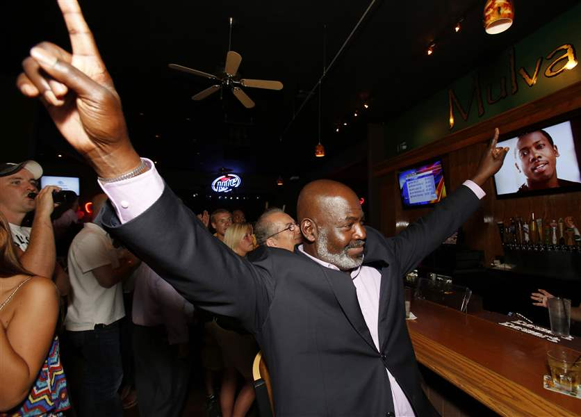 Mayor-Mike-Bell-celebrates-winning-the-primary